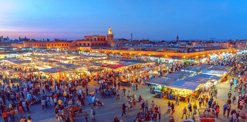 مراكش .. تسليط الضوء على إبداعات تامي التازي وفرناندو سانشيث وإيف سان لوران