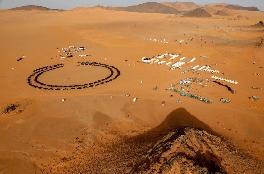 الصحراء المغربية : مخيم إقامة المتسابقين… القلب النابض لمارطون الرمال