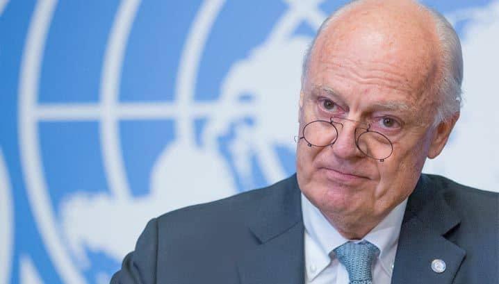 تعيين ستافان دي ميستورا مبعوثا شخصيا للأمين العام الأممي إلى الصحراء المغربية